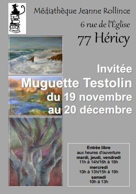 Affiche exposition Muguett à Héricy 77