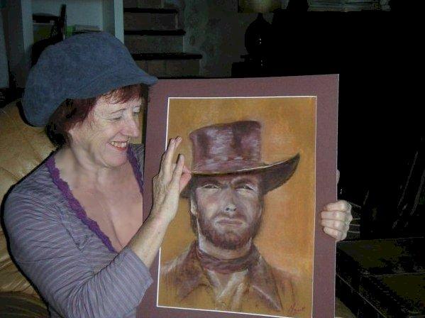 Muguette Testolin Clint Eastwood