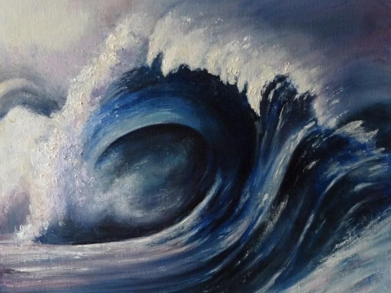 La vague huile de Muguett