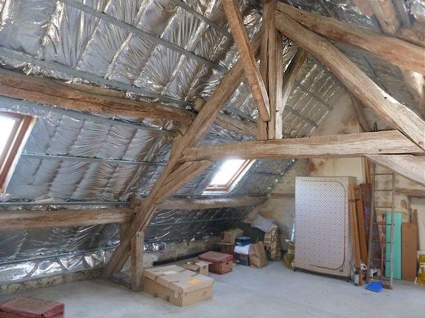 77 Écuelles - Maison d'EArtiste de Muguett à vendre - Combles 35 m2 aménageables