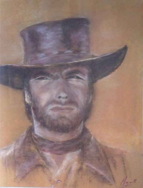 Clint, pastel de Muguett