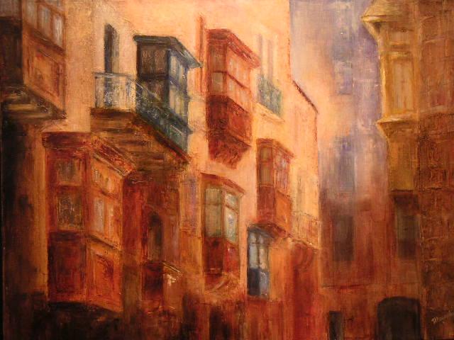 Rue de La Valette, par Muguett