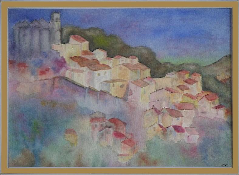 Eus, petit village catalan des Pyrénées Orientales